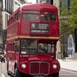Stok fotoğraf: Old double decker London bus