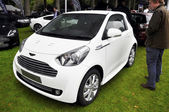 An Aston Martin Cygnet — Stock Photo