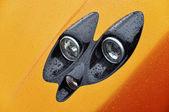 Reflektor oranžový supersport — Stock fotografie