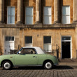 Vintage green car — Foto de Stock