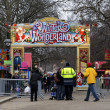 winter wonderland in hyde park, Londen — Stockfoto