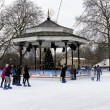 Winter Wonderland in Hyde Park, London — Stock Photo