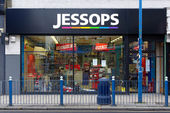 Jessops camera store closed down on High Street Putney in London — Foto de Stock