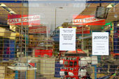 Jessops camera store closed down on High Street Putney in London — Stok fotoğraf