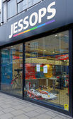 Jessops camera store closed down on High Street Putney in London — ストック写真