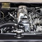 Vintage car engine — Stock Photo #18907145