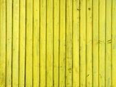Yellow wooden wall — Stock Photo