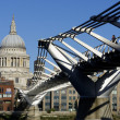 Stock Photo: London Millennium Footbridge