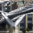 London Millennium Footbridge — Stok fotoğraf