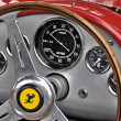 Stock Photo: Vintage Ferrari dashboard