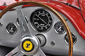 Vintage Ferrari dashboard — Stock Photo