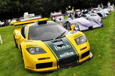 A McLaren F1 racer at Chelsea AutoLegends 2011 — Stock Photo