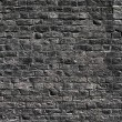 Black brick wall texture — Stock Photo #19568665