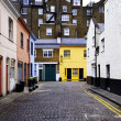 Cobbled street in London — Foto de Stock