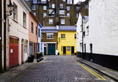 Cobbled street in London — ストック写真
