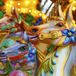 Merry-go-round horses — Stock Photo #21299231