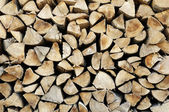 Logs background — Foto Stock