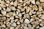 Logs background — Stockfoto