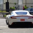 White Aston Martin One-77 — Stock fotografie #21385573