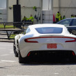 Stockfoto: White Aston Martin One-77