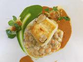Fish main course — Stock Photo