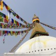 Bodhnath stupa in Kathmandu, Nepal — Stock Photo