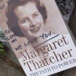 Homage to Margaret Thatcher — Stock Photo