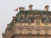The Ritz hotel where Margaret Thatcher has died — Stock Photo