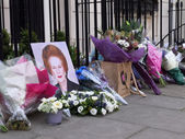 Hommage à margaret thatcher — Photo