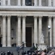 Stock Photo: Baroness Thatcher's funeral