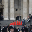 Baroness Thatcher's funeral — Stock Photo #24154397