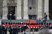 Baroness Thatcher's funeral — Photo