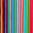 Colorful pashminas — Stock Photo