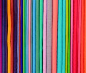 Colorful pashminas — Stock Photo