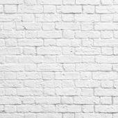 белый кирпичная стена — Стоковое фото