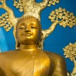 Golden Buddha statue — Stockfoto