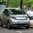 Autolib' electric car sharing service in Paris — Stock Photo #26675107