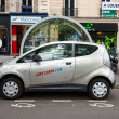 Autolib' electric car sharing service in Paris — Foto de Stock