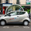 Autolib' electric car sharing service in Paris — Stock Photo #26675131