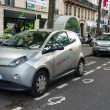 Autolib' electric car sharing service in Paris — Stock Photo #26675211