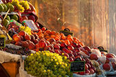 Grocery fruit stall — Stock Photo