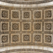 Arc de Triomphe arch detail — Stock Photo