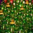 Green bottles — Stock Photo #37115971