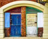 Colorful facade — Stock Photo