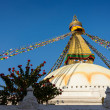 boudhanath stupa — Stock Photo