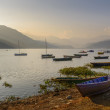 Phewa Lake in Pokhara — Stock Photo #38081333
