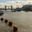 Stock Photo: The river Thames in London