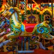Merry-go-round horses — Stock Photo #38288089
