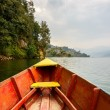 Barque on Phewa Lake in Pokhara — Stock Photo #38299323