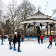 Ice rink at Winter Wonderland in London — Stock Photo #38337623